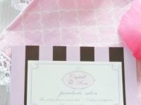 Crystal rose様 ショップカード